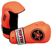 "Guanti Semi-Contact TOP TEN PointFighter ""Star"" NEON Arancione"
