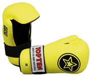 "Guanti Semi-Contact TOP TEN PointFighter ""Star"" NEON Giallo"