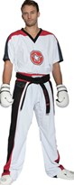 "Divisa Kickboxing TOP TEN ""STAR EDITION"" Bianco/Nero"