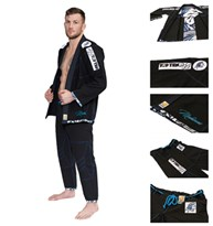 "Uniforme TOP TEN Brazilian Jiu-Jitsu ""Mohicans"" Nero"