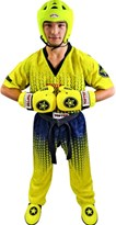 "Divisa Kickboxing TOP TEN ""Grafic"" Giallo/Nero"